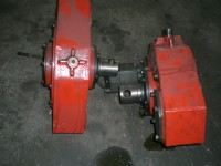 Gidrovraschatelya worm reducer for BKM, BKU, etc.